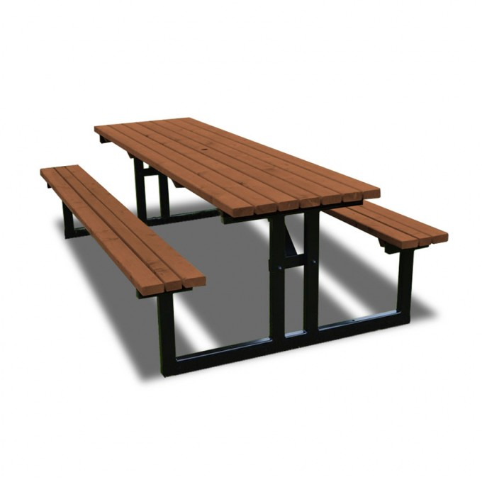 Newland Steel Picnic Bench